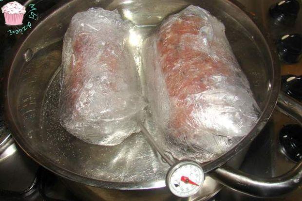 Domowy baton mięsny