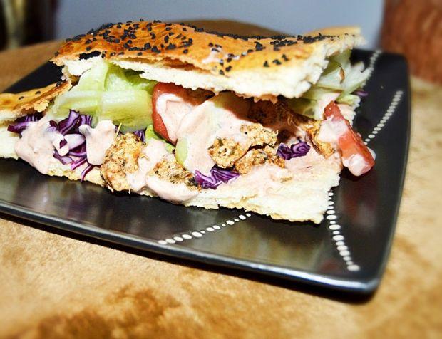 Domowy kebab w bułce