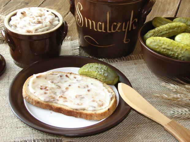 Domowy smalec do chleba