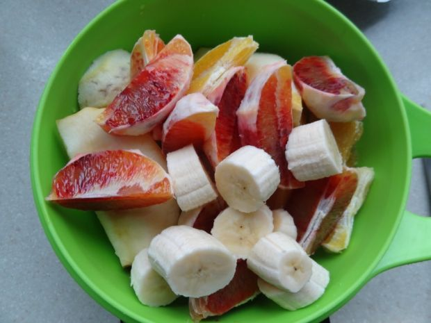 Domowy sok marchewkowo-owocowy