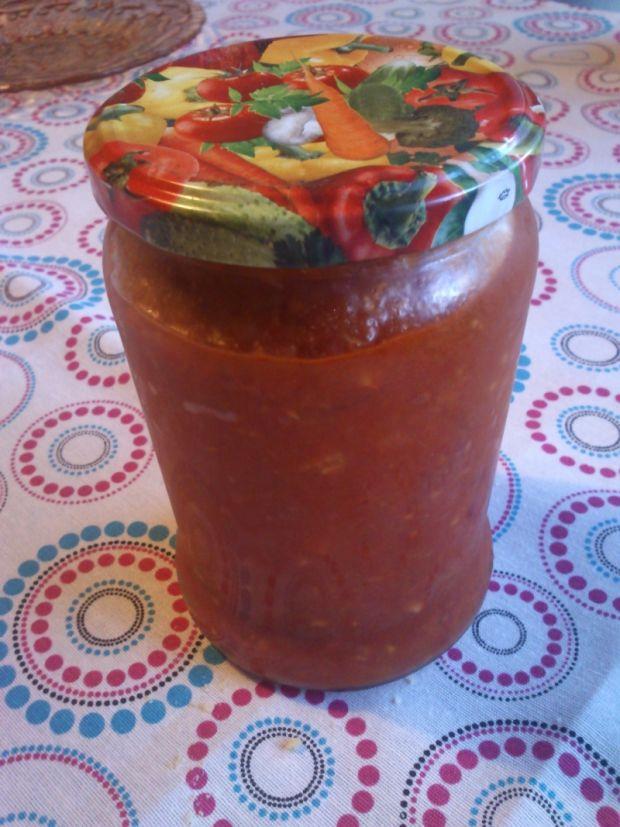 Domowy sos pomidorowy na zimę,