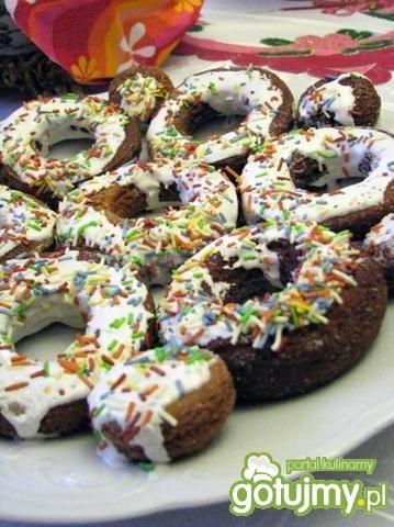 Donuty owsiane