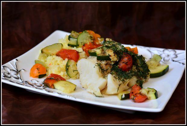 Dorsz z warzywami