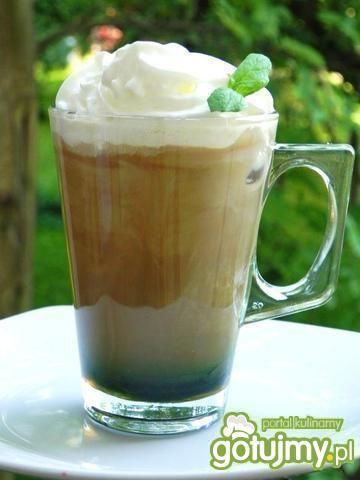 Drink kawowy a'la mojito