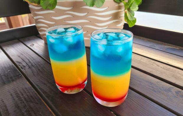 Drink żar tropików z wódką