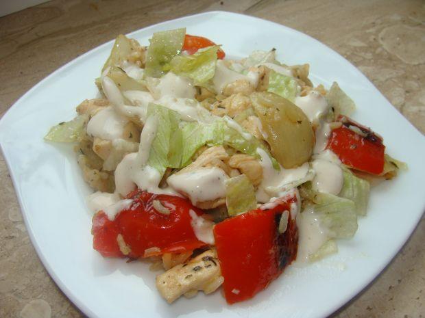 Drobiowa potrawka z ryżem i warzywami