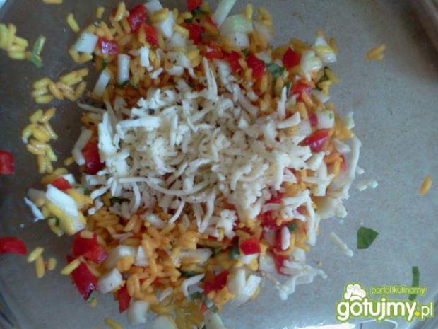 Drobiowe kieszonki z ryżem i papryką