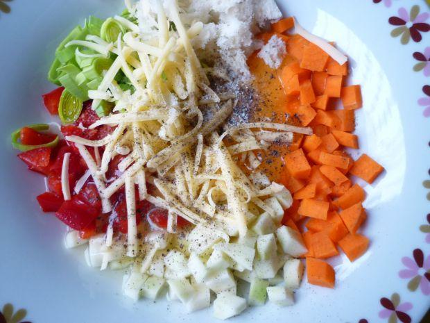 Drobiowe roladki z warzywami