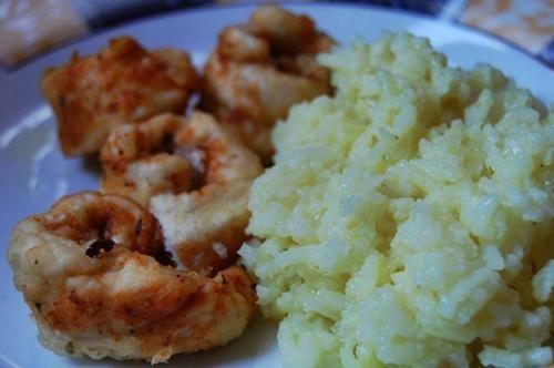 *Drobiowe ślimaczki z ryżem*