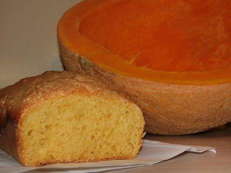 Drożdżowy chleb z dynią