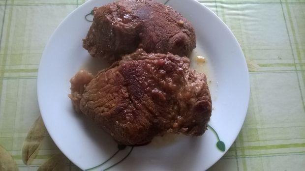 Duszona wołowina
