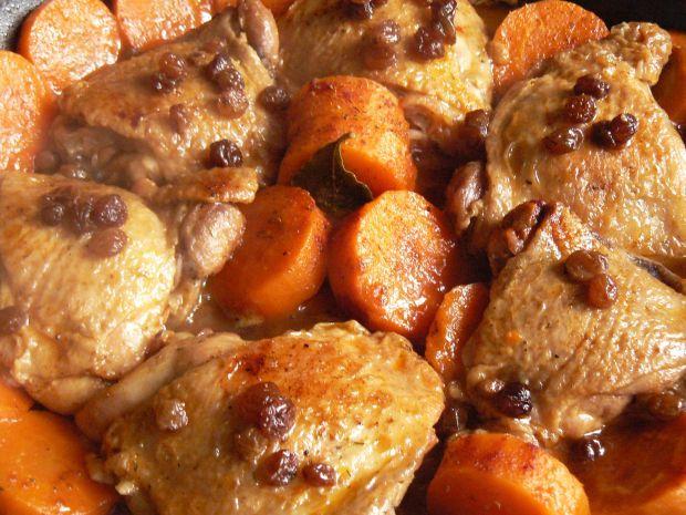 Duszone udka z kurczaka