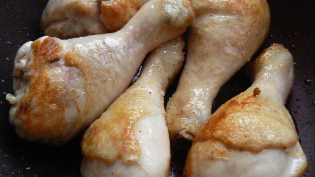 Duszony kurczak z ryżem
