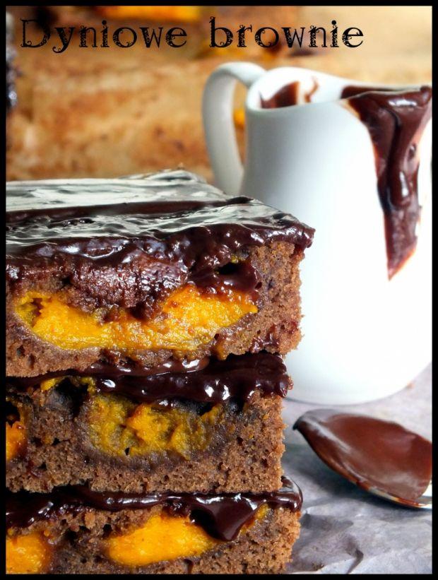 Dyniowe brownie mocno czekoladowe
