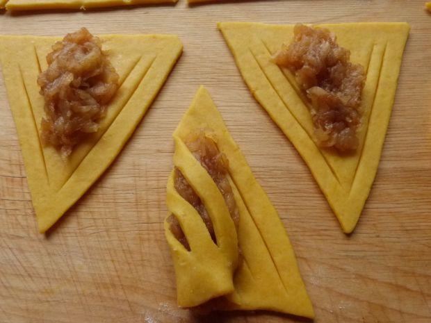 Dyniowo-cytrynowe ciasteczka z jabłkami