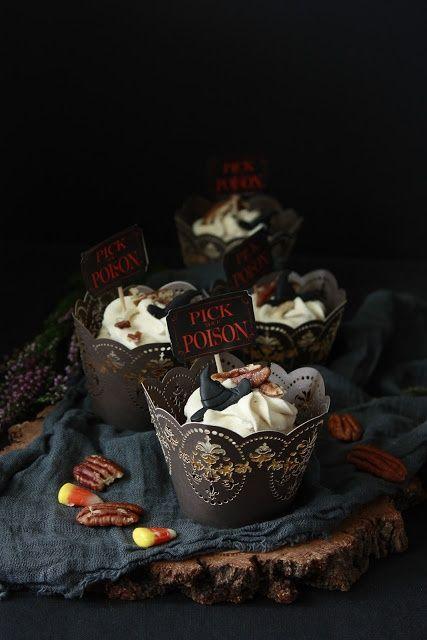 Dyniowo-marchewkowe muffinki z cynamonowym kremem