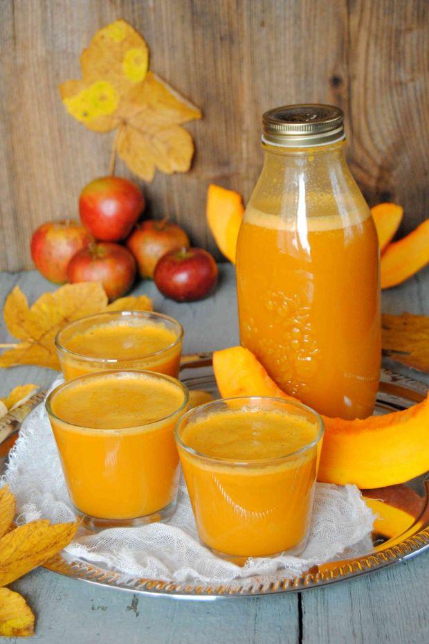 Dyniowo marchwiowy sok z jabłkami