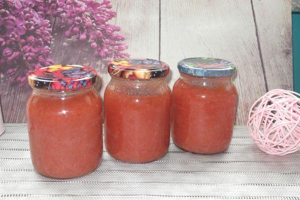 Dżem brzoskwiniowo-truskawkowy