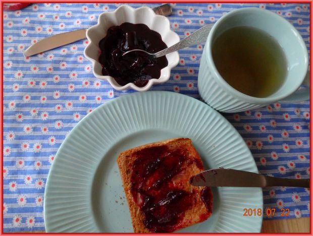 Dżem jabłkowo-aroniowo-jagodowy