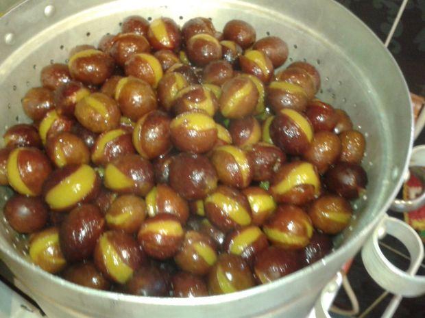 Dżem jabłkowo - śliwkowy z sokownika