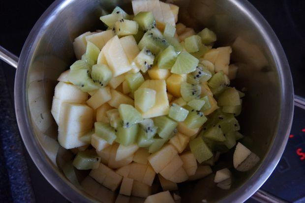 Dżem jabłkowy z kiwi