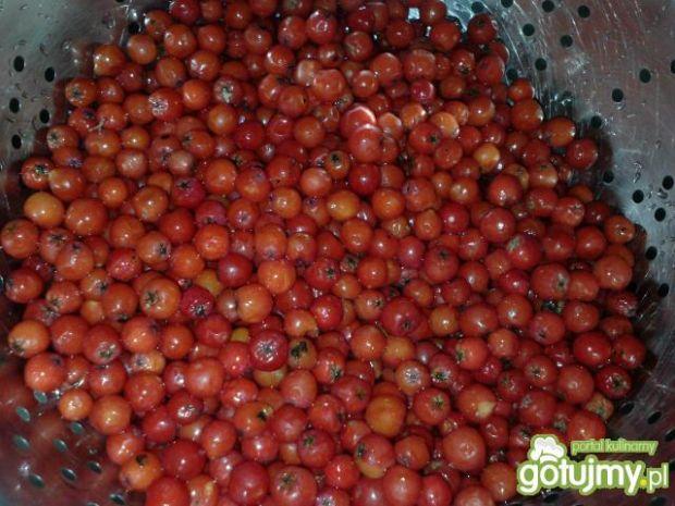 Dżem jarzębinowy z jabłkami i gruszką