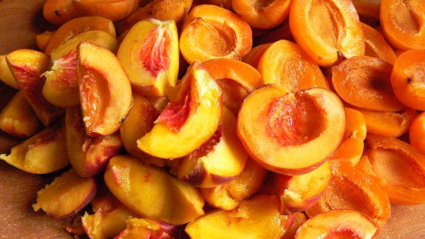 Dżem morelowo brzoskwiniowy