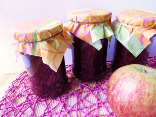 Dżem śliwkowy z jabłkami