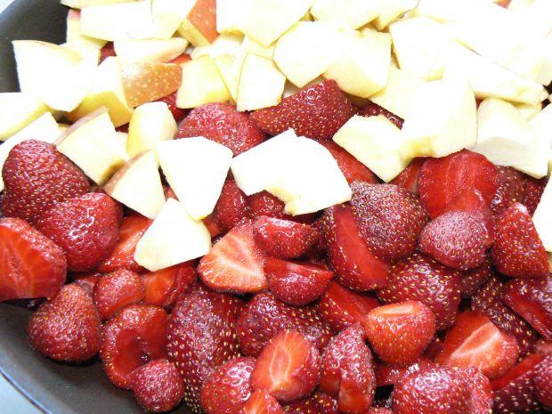 Dżem truskawkowo jabłkowy