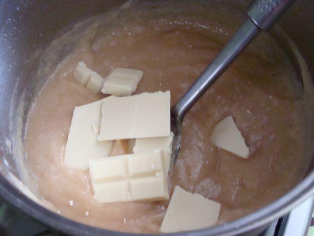 Dżem z białą czekoladą