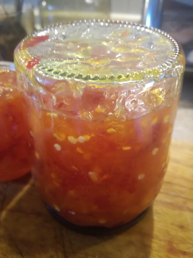 Dżem z chilli i pomarańczy