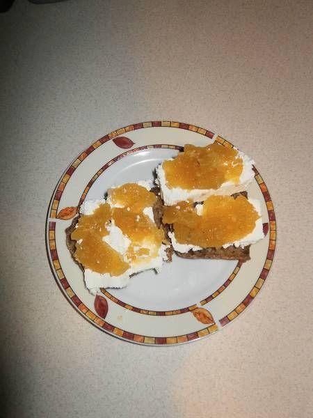 Dżem z cukinii z pomarańczową nutką