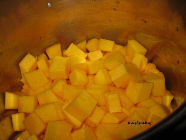 Dżem z dyni z pomarańczą i wanilią