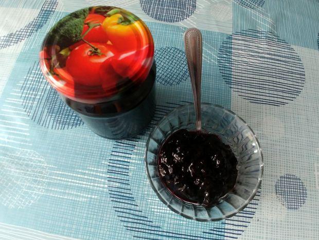 Dżem z jagód i borówki amerykańskiej