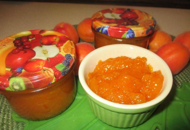 Dżem z moreli i pomarańczy