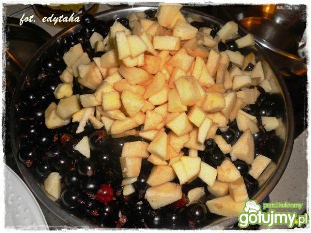 Dżem z porzeczkoagrestu z jabłkiem