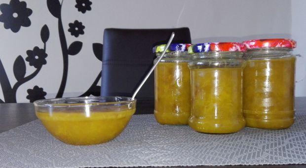 Dżem z żółtych śliwek