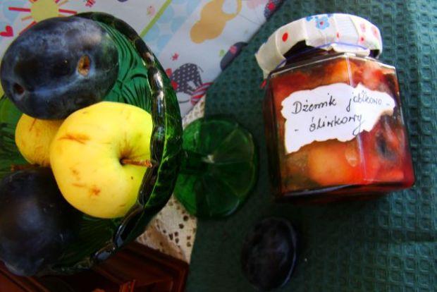 Dżemik jabłkowo z podwójną śliwką