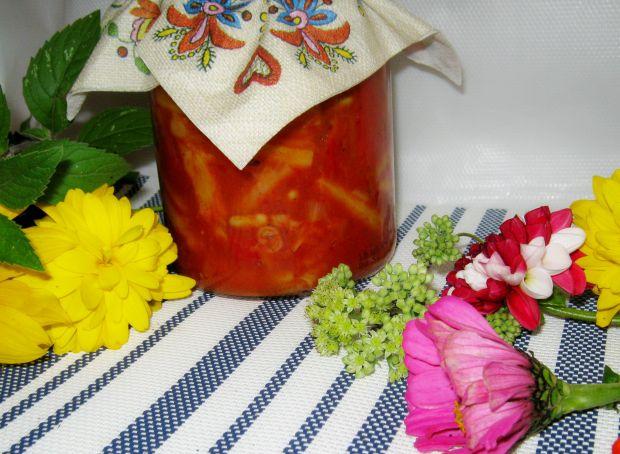 Fasolka na pomidorowo