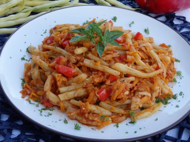 Fasolka szparagowa w sosie warzywnym