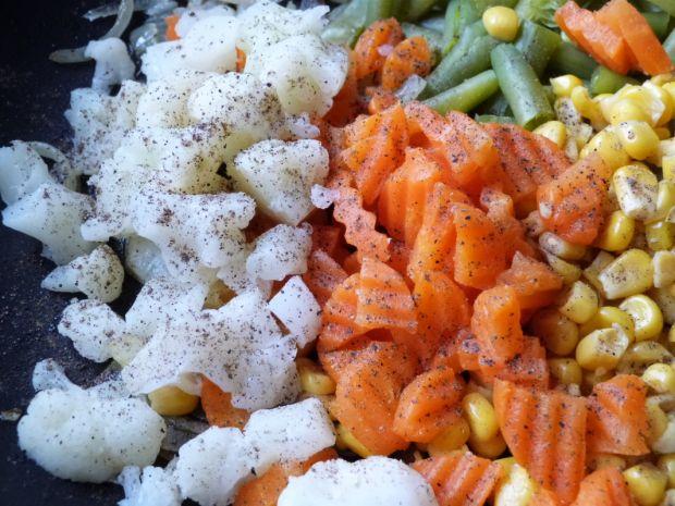 Fasolka szparagowa z kukurydzą