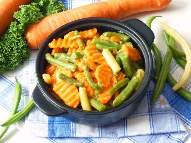 Fasolka szparagowa z marchewką