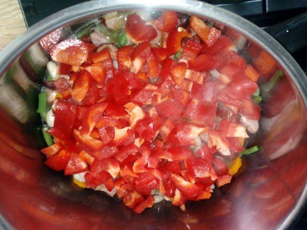 Fasolka z mnóstwem warzyw