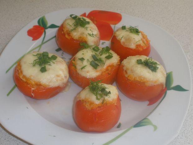 Faszerowane pomidory z mozzarellą