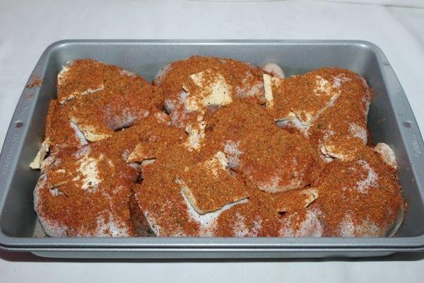 Faszerowane udka z mięsem mielonym i pieczarkami