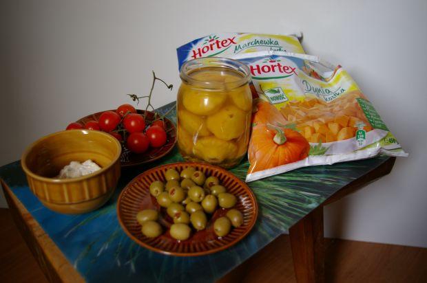 Faszerowane warzywne babeczki