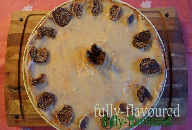 Figowy sernik z awokado