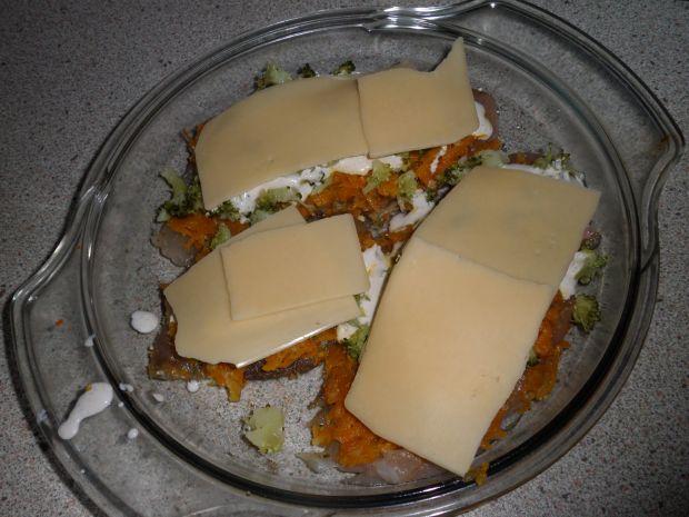 Filecik z pierzynką marchewkową