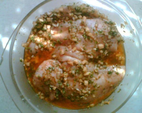 Filet z kurczaka w marynacie
