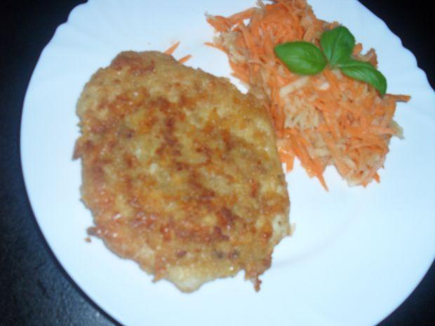 Filet z kurczaka w panierce z serem